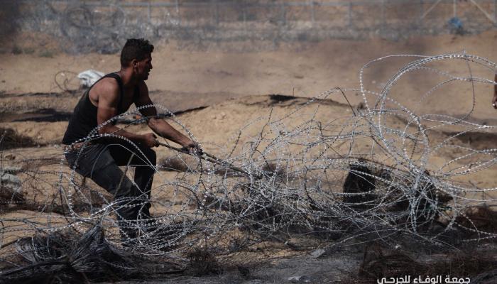 """(206) إصابة في """"جمعة الوفاء للجرحى"""" جراء اعتداءات الاحتلال"""