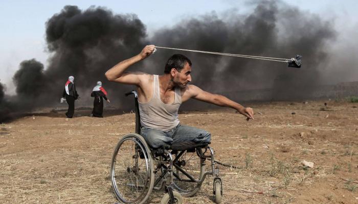 """مُصوّر فلسطيني يفوز بجائزة """"بايو كالفادوس"""" عن صورة من مسيرة العودة الكُبرى"""
