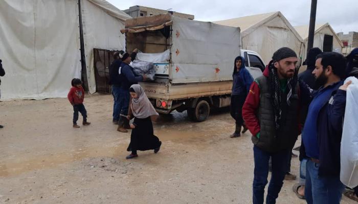 """من التوزيع """" بوابة اللاجئين"""""""