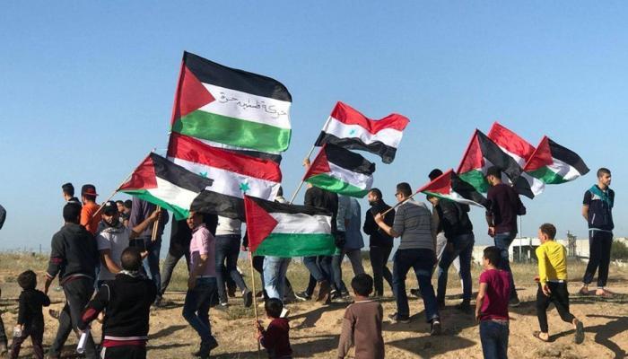 """غزة: (3) شهداء وعشرات الإصابات في جمعة """"الجولان عربيّة سوريّة"""""""