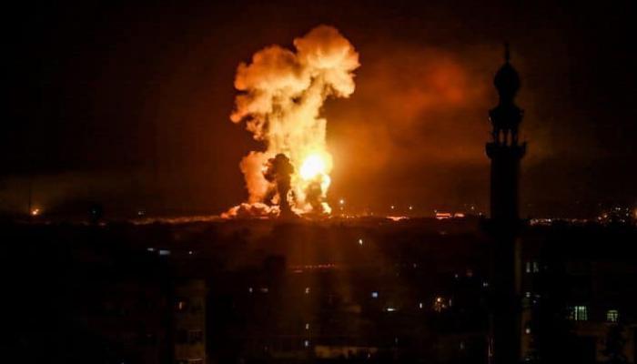 تواصل القصف الإسرائيلي على قطاع غزة