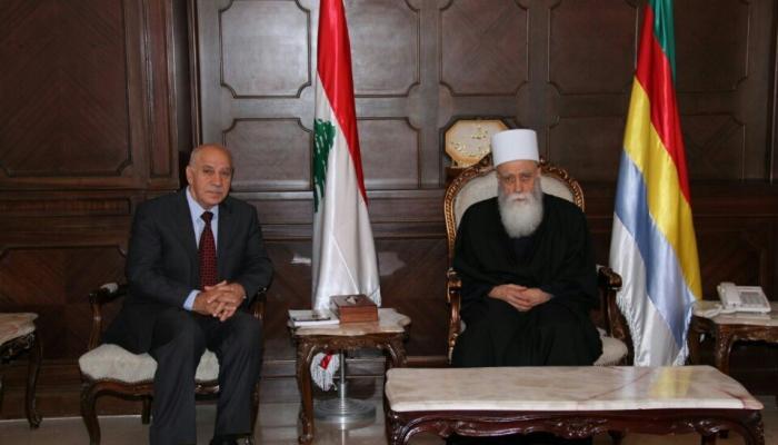 """لقاء في دار الطائفة الدرزية في بيروت """" الوكالة الوطنية للإعلام"""""""