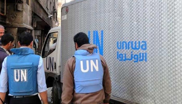 """دعوات  لحل أزمة موظفي الإغاثة  لدى """" الأونروا"""" في سوريا  """" انترنت"""""""