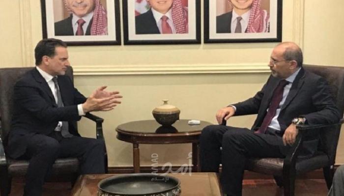 خلال لقاء جمعهما في العاصمة الأردنية عمّان
