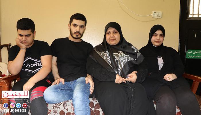 اللاجئة وصال وأبناؤها