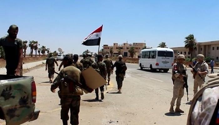 """جيش النظام في درعا """" انترنت"""""""