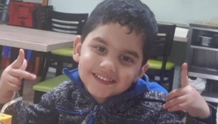 الطفل المتوفى أحمد ماجد عوّاد