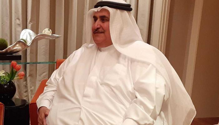"""خلال لقاء وزير الخارجية البحرينية مع صحيفة """"The Time of Israel""""  الصهيونية"""