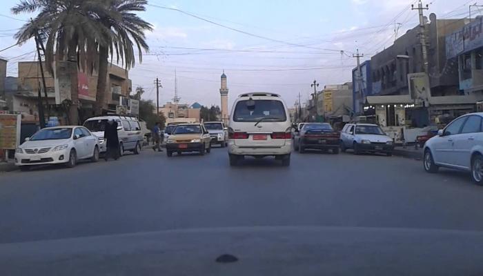 """منطقة بغداد الجديدة حيث تقع """" عمارة الأرامل"""""""