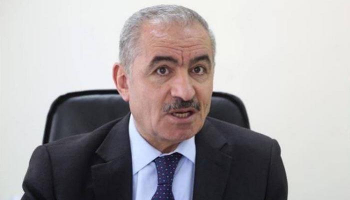 رئيس احكومة في رام الله المحتلة محمد اشتيه