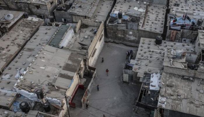 مخيم الشطئ أحد أكبر المخيمات الفلسطينية في غزة - انترنت