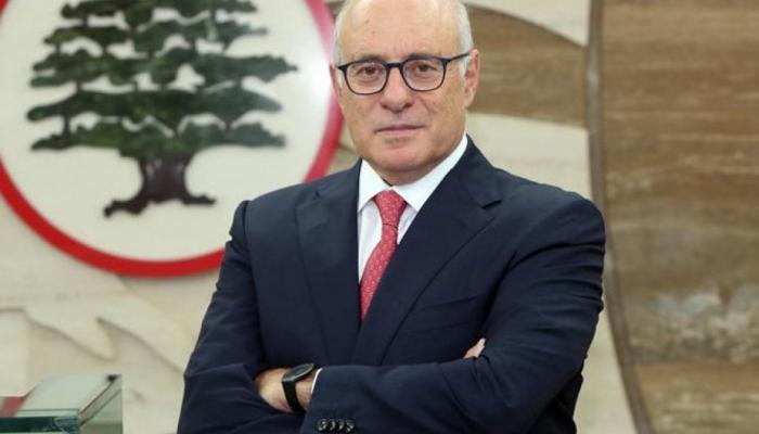 """وزير العمل اللبناني كميل أبو سليمان """" انترنت"""""""