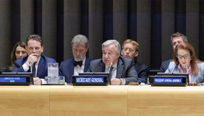 """بحث تفويض """"أونروا"""" وانتهاكات الاحتلال الاثنين في الأمم المتحدة"""