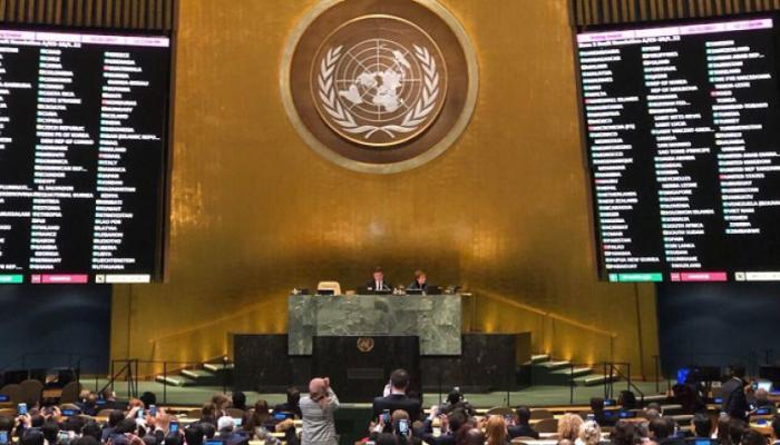 """تأييد كاسح في الجمعيّة العامّة للأمم المتحدة لـ """"حق تقرير المصير للشعب الفلسطيني"""""""