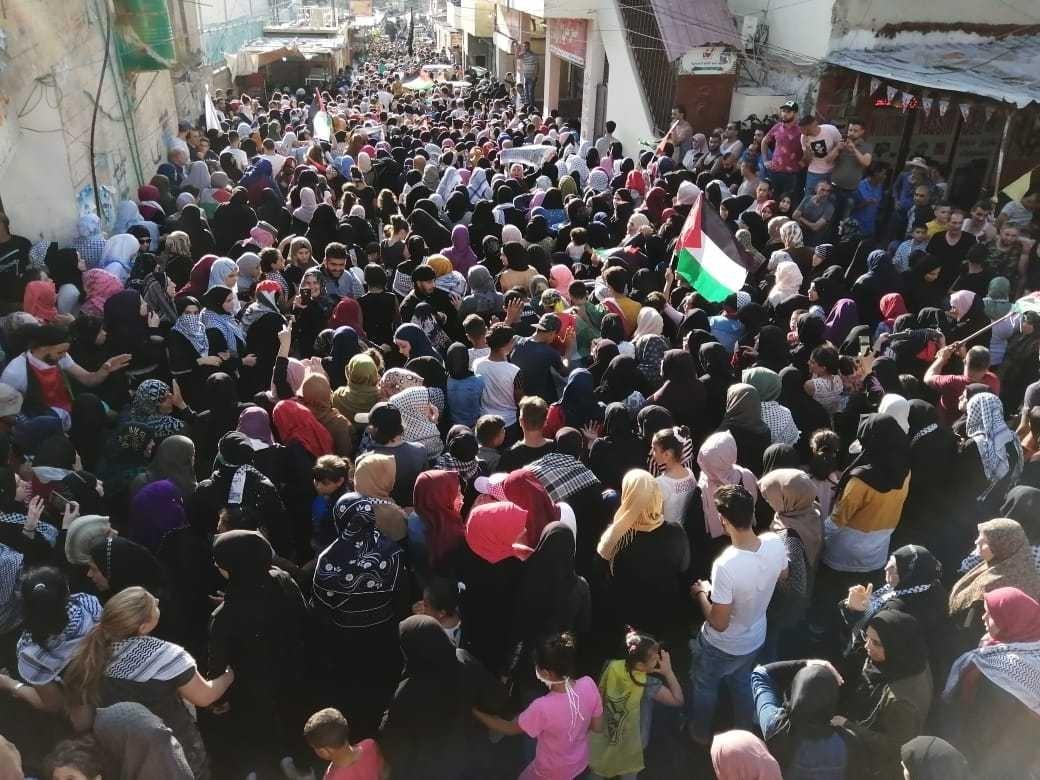 مظاهرات ضد اجراءات وزارة العمل.jpg